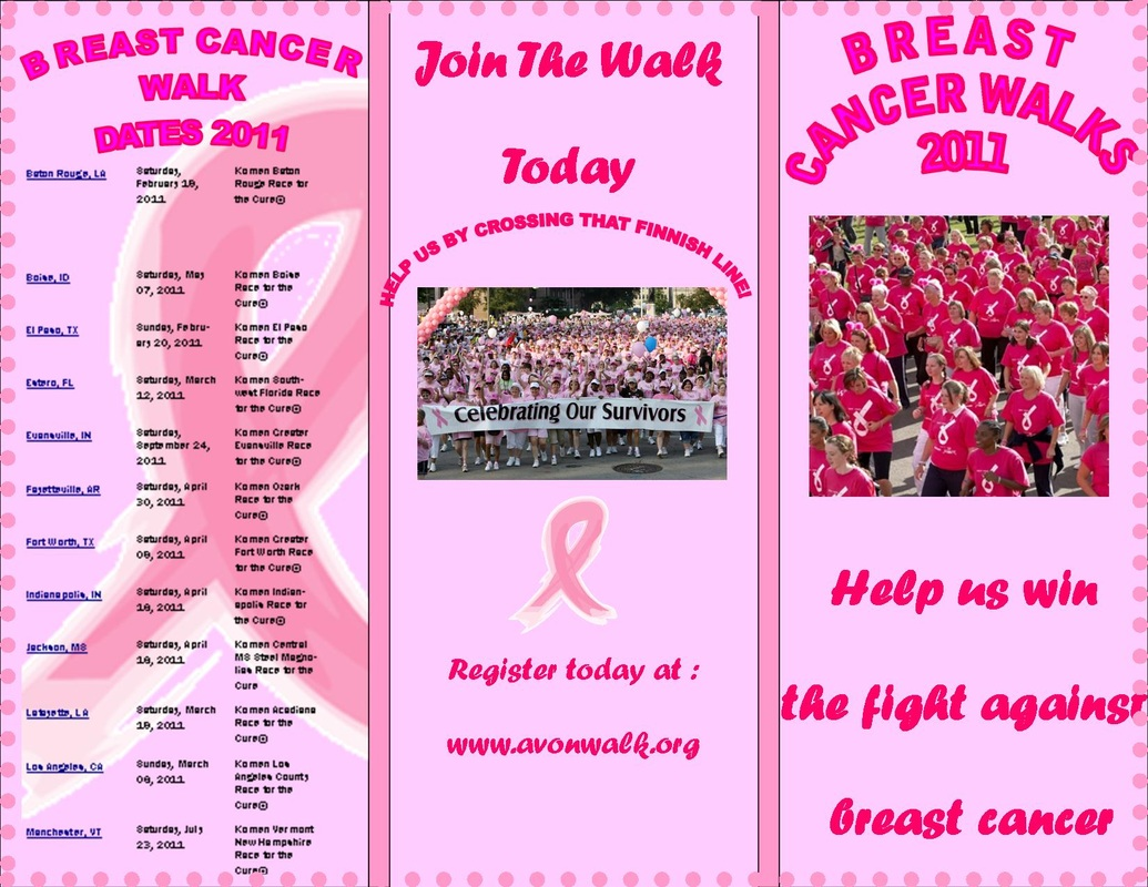 Term two parris 39 graphics website for Breast cancer brochure template free